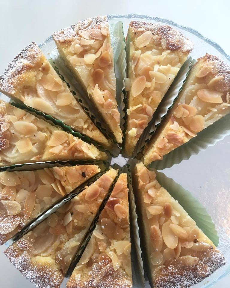 Cazs Kitchen Italian Pear and Almond Cake