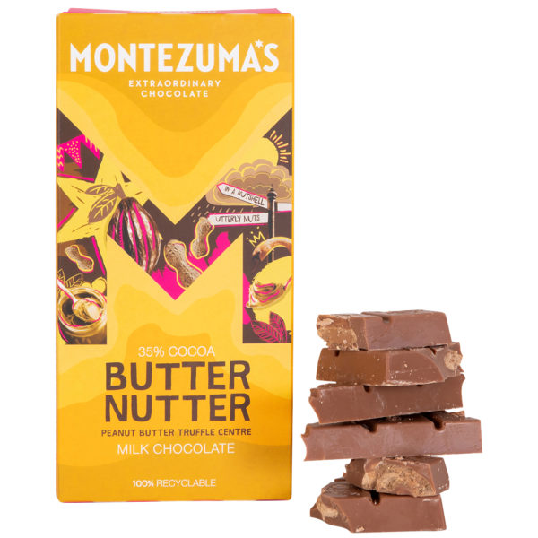 peanut butter truffle choc bar