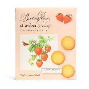 butterflies strawberry crisp
