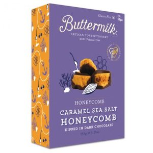 caramel sea salt honeycomb
