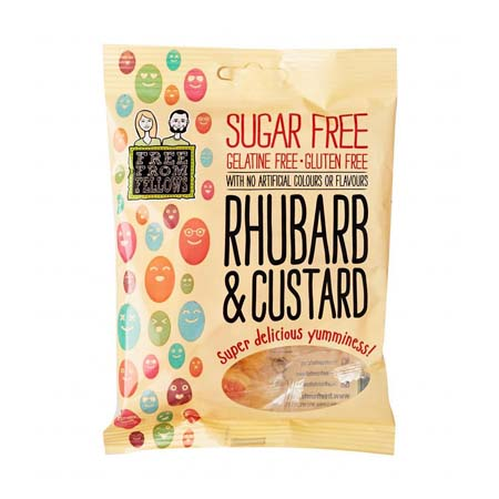 free from rhubarb and custards