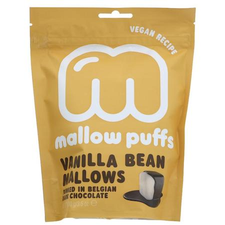 vanilla vegan mallow puffs