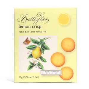 butterflies lemon crisps