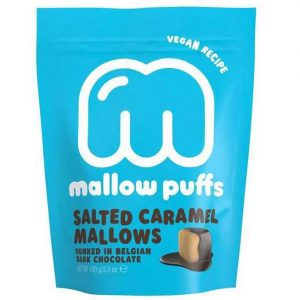 salted caramel vegan mallow puffs