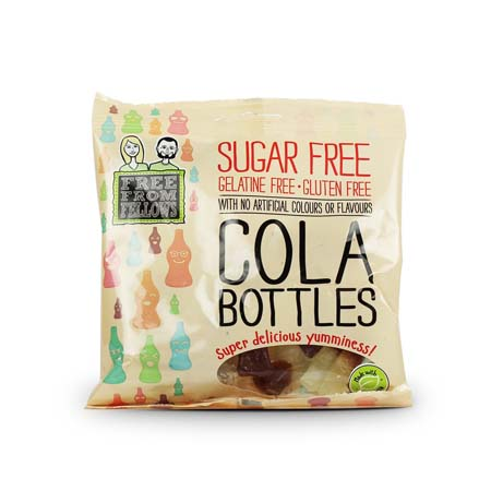 free from cola bottles