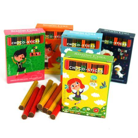 milk choc pencils