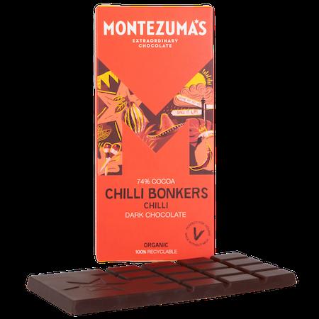 montezuma chilli dark chocolate